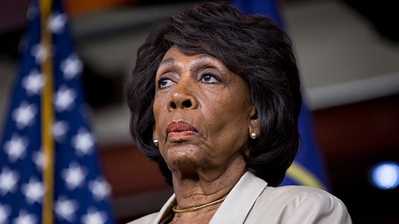 We believe Maxine Waters should be removed as a member of the US Senate!